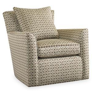 Sam Moore Silas Swivel Chair