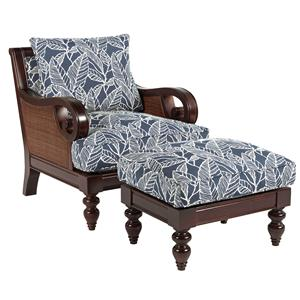 Sam Moore Tailynn Chair & Ottoman