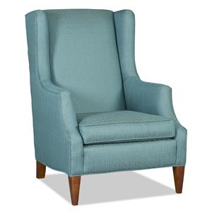 Sam Moore Tenison Transitional Wing Chair