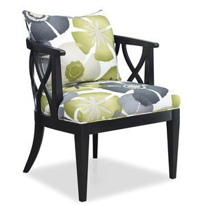 Sam Moore Verona Carved Wood Chair