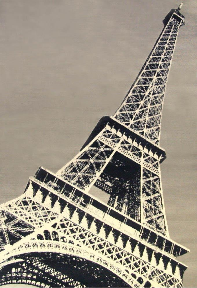 4x7 Paris Area Rug