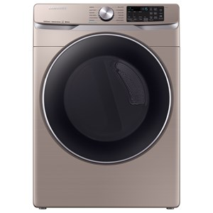 7.5 Cu. Ft. Electric Front Load Dryer with Steam Sanitize
