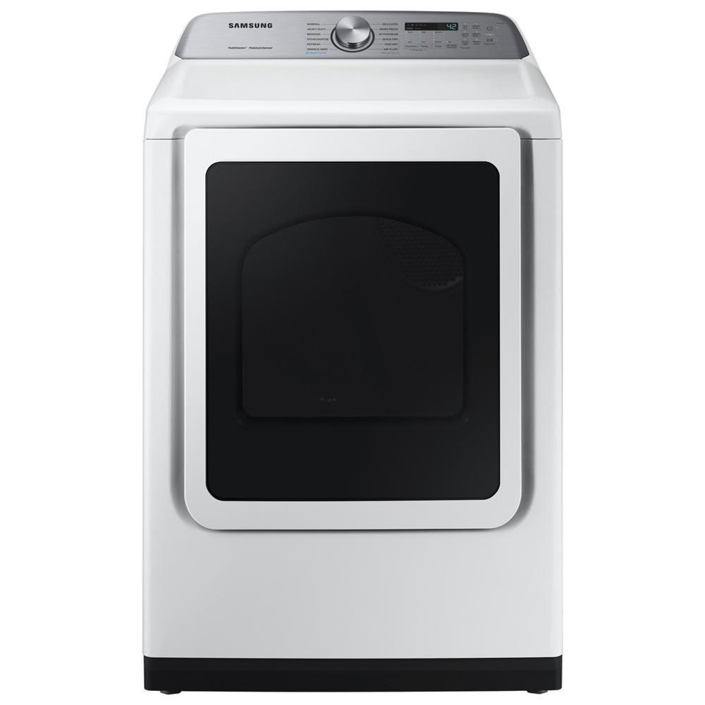 """Dryers- Samsung 7.4 Cu. Ft. 27"""" Electric Front Load Dryer by Samsung Appliances at Furniture Fair - North Carolina"""