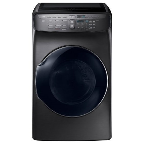 Dryers- Samsung DV9600 7.5 cu. ft. FlexDry™ Electric Dryer by Samsung Appliances at VanDrie Home Furnishings