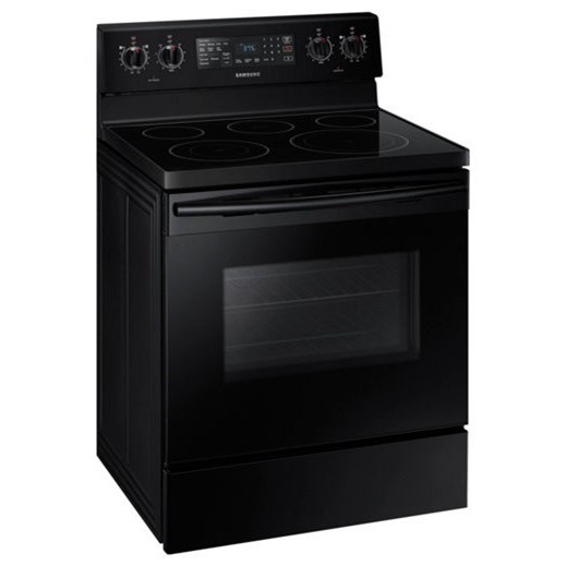Electric Range 5.9 cu. ft. Freestanding Electric Range by Samsung Appliances at VanDrie Home Furnishings