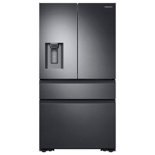 French Door Refrigerators 23 Cu.Ft. Counter Depth 4-Door Fridge by Samsung Appliances at Furniture and ApplianceMart