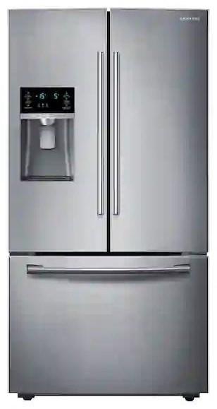 French Door Refrigerators 28 CF FRENCH DOOR REFRIGERATOR by Samsung Appliances at Furniture Fair - North Carolina