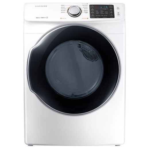Gas Dryers - Samsung 7.4 cu. ft. Gas Dryer by Samsung Appliances at VanDrie Home Furnishings