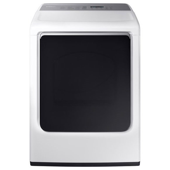 Gas Dryers - Samsung DV8750 7.4 cu. ft. Gas Dryer by Samsung Appliances at VanDrie Home Furnishings