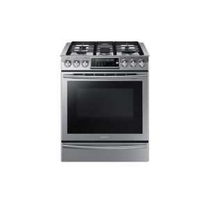 """5.8 Cu. Ft. 30"""" Slide-In Gas Range with True Convection"""