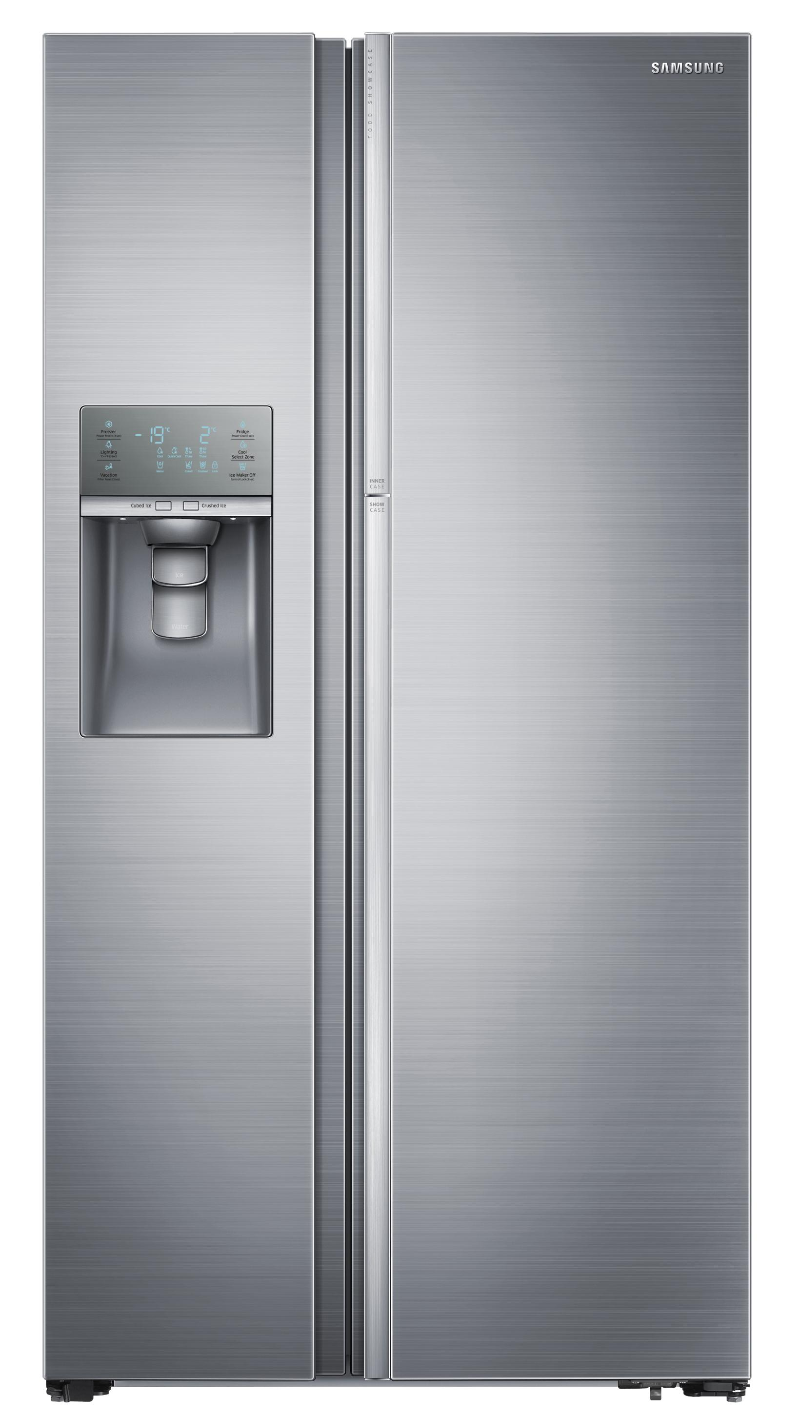 Side-By-Side Refrigerators 29 cu. ft. Side-by-Side Refrigerator by Samsung Appliances at Furniture and ApplianceMart