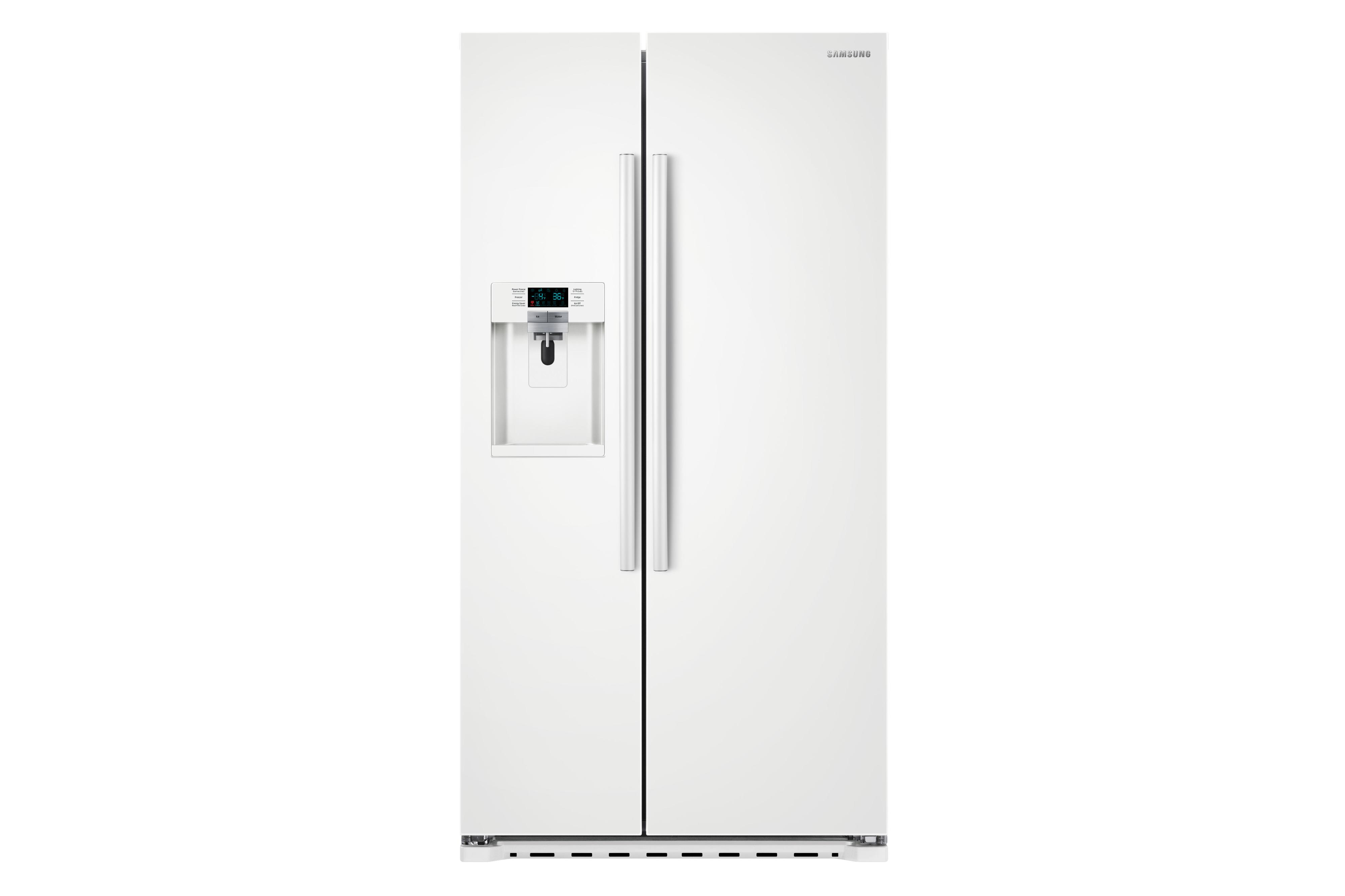 Side-By-Side Refrigerators 22cu.ft. Counter Depth Side-by-Side Fridge by Samsung Appliances at VanDrie Home Furnishings