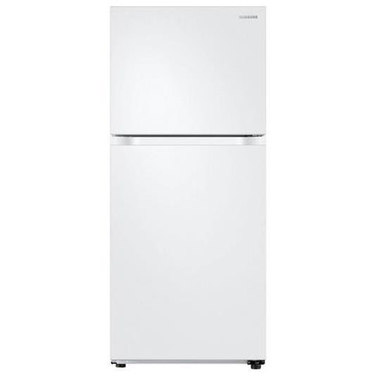 Top Freezer Refrigerators - Samsung 18 cu. ft. Capacity Top Freezer Refrigerator by Samsung Appliances at VanDrie Home Furnishings