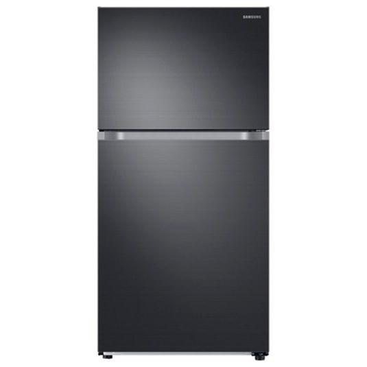 Top Freezer Refrigerators - Samsung 21 cu. ft. Capacity Top Freezer Refrigerator by Samsung Appliances at VanDrie Home Furnishings