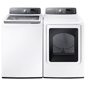 4.8 Cu. Ft. Washer and 7.4 Cu. Ft. Dryer