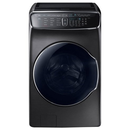 Front Load Washers - Samsung WV9900 6.0 Total cu. ft. FlexWash™ Washer by Samsung Appliances at Furniture and ApplianceMart