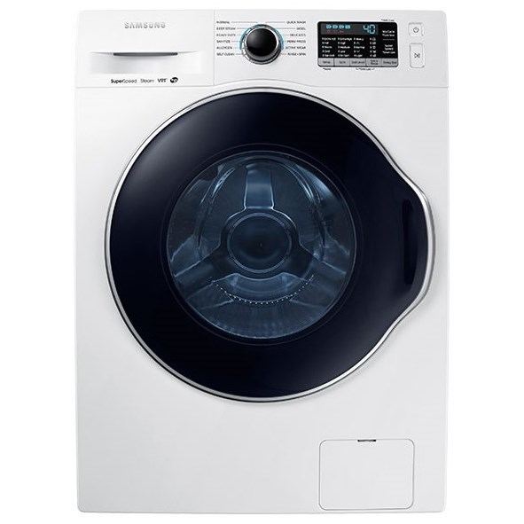 Front Load Washers - Samsung WW6800 2.2 cu. ft. Front Load Washer by Samsung Appliances at Furniture and ApplianceMart