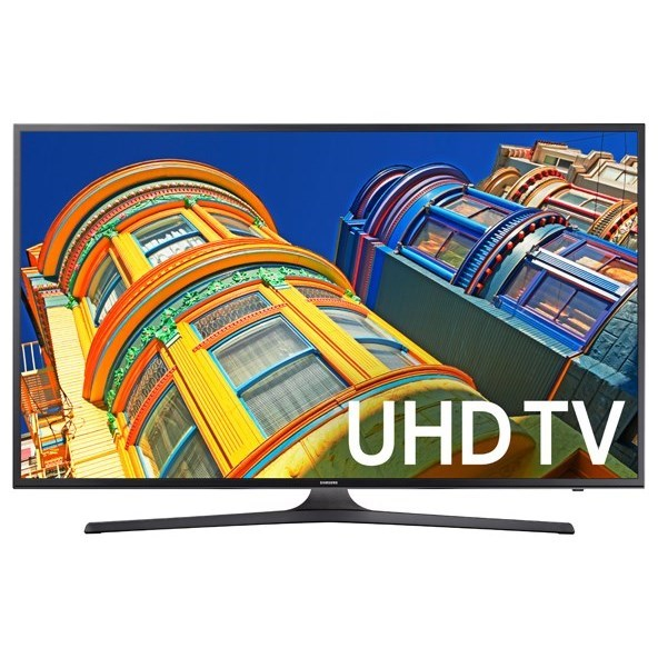 "4K UHD TVs - Samsung 2017 40"" Class KU6290 4K UHD TV by Samsung Electronics at Wilcox Furniture"