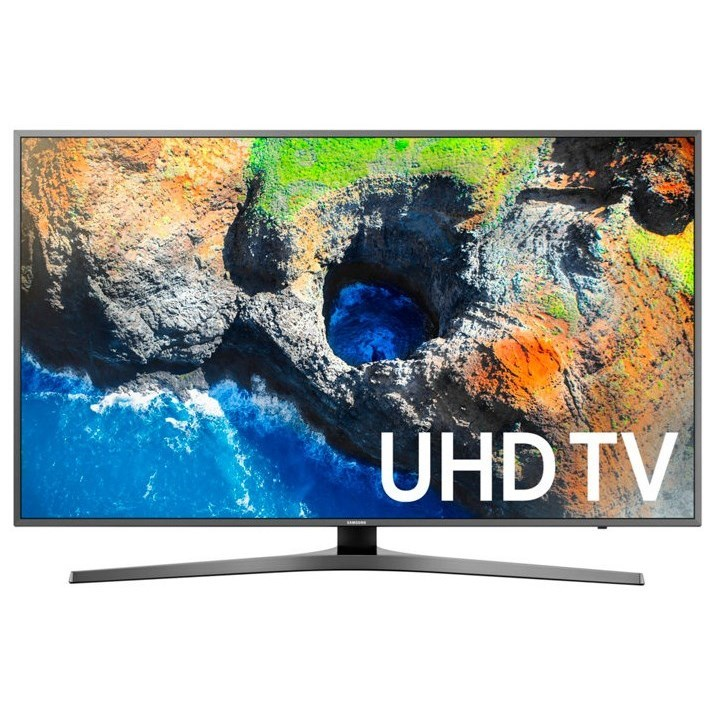 "4K UHD TVs - Samsung 2017 40"" Class MU7000 4K UHD TV by Samsung Electronics at Wilcox Furniture"