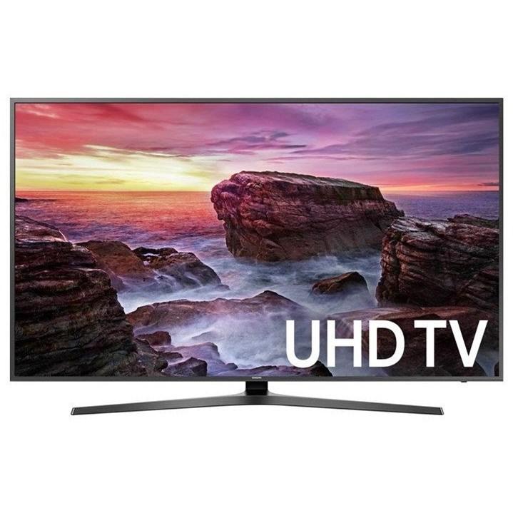 "4K UHD TVs - Samsung 2018 40"" Class MU6290 4K UHD TV by Samsung Electronics at Wilcox Furniture"