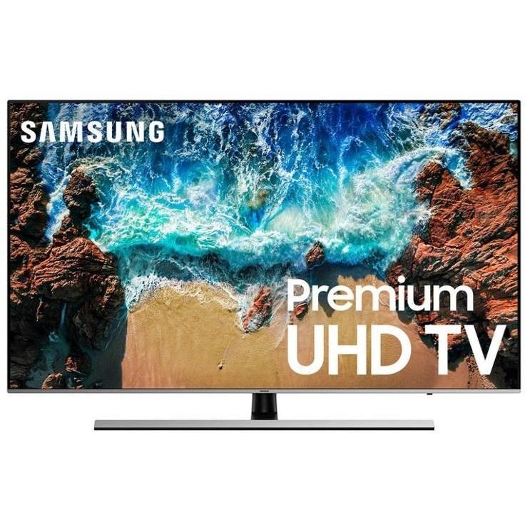 "4K UHD TVs - Samsung 2018 65"" Class NU7100 Smart 4K UHD TV by Samsung Electronics at Wilcox Furniture"