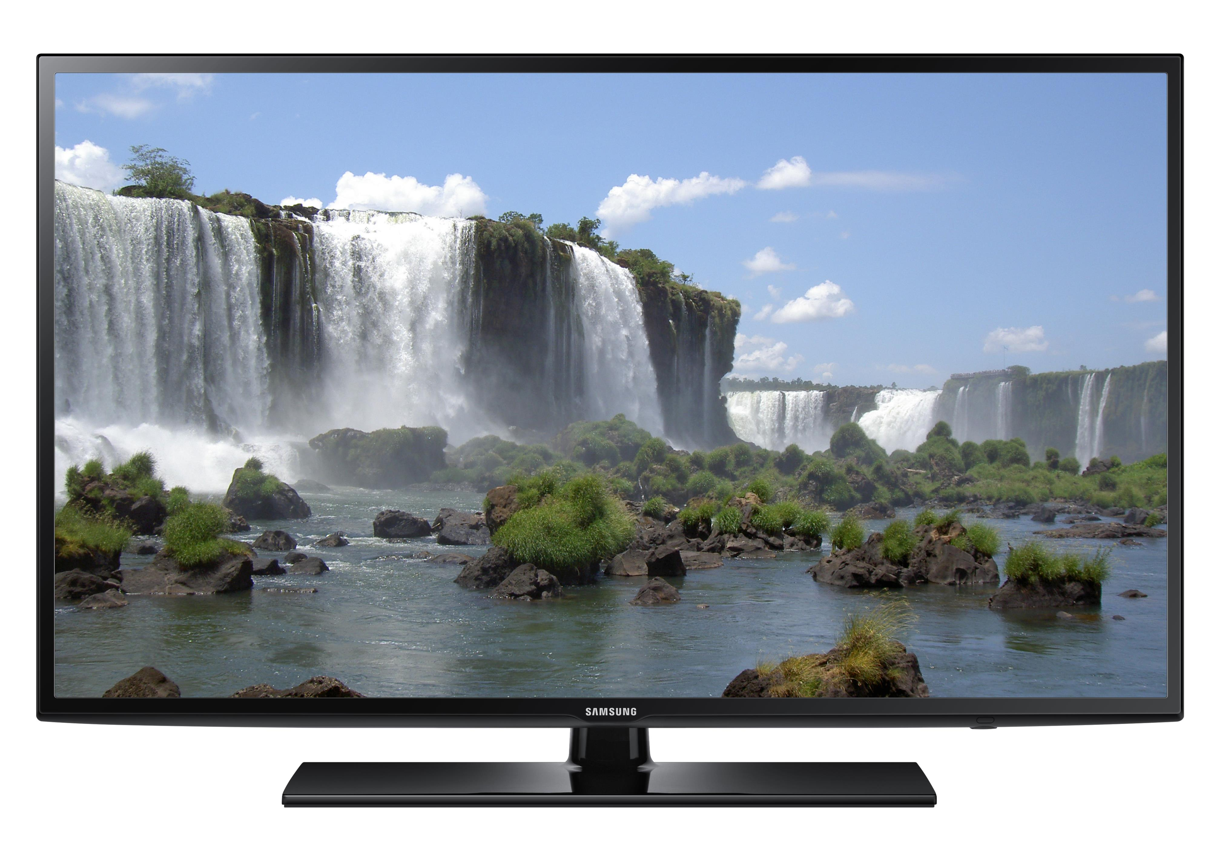 """Samsung LED TVs 2015 LED J6200 Series Smart TV - 65""""  by Samsung Electronics at Wilcox Furniture"""