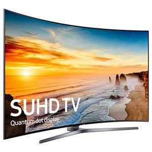 "Samsung Electronics Samsung LED TVs 2016 65"" Class KS9800 9-Series Curved 4K SUHD TV"