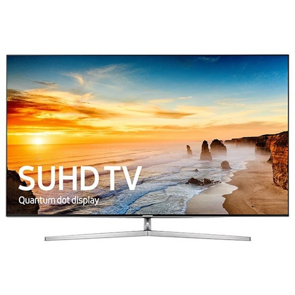 """Samsung LED TVs 2016 75"""" Class KS9000 9-Series 4K SUHD TV by Samsung Electronics at Wilcox Furniture"""