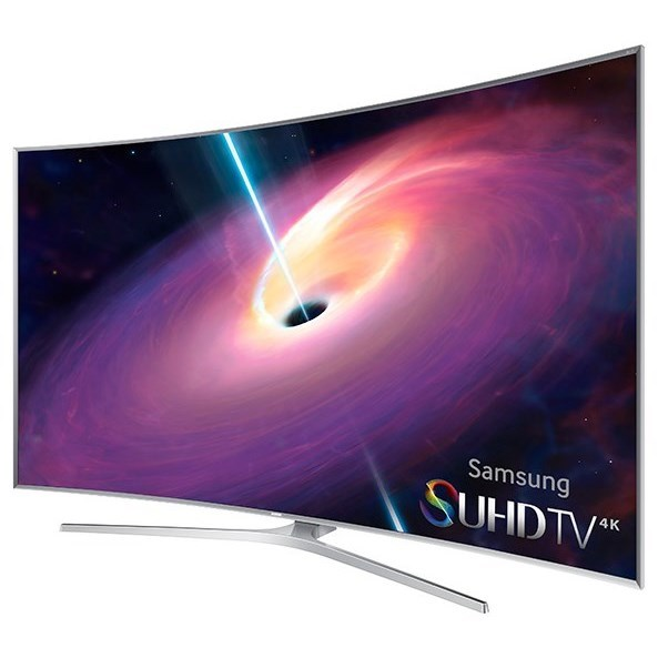 "Samsung LED TVs 2016 4K SUHD JS9500 Series Curved Smart TV - 78""  by Samsung Electronics at Wilcox Furniture"