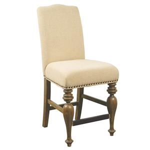 Samuel Lawrence American Attitude Upholstered Back Gathering Chair