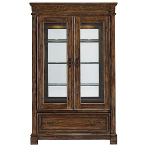 Traditional Curio China Cabinet
