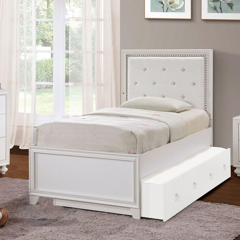 Brit  Brit TwinPanel Bed with LED Lighting by Samuel Lawrence at Morris Home