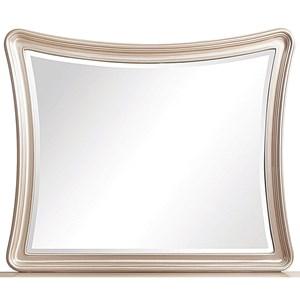 Beveled Landscape Mirror