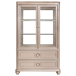 Curio China Cabinet with Touch Lighting
