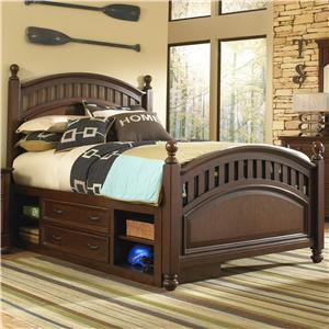 Samuel Lawrence Expedition Youth Full Low Post Bed