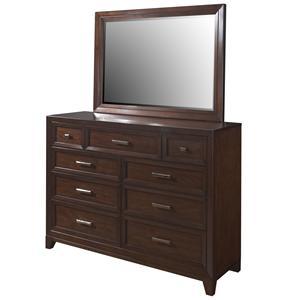 Samuel Lawrence Fairview Dresser & Mirror