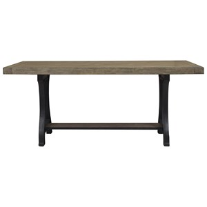 Pedestal Gathering Table with Cast Metal Base