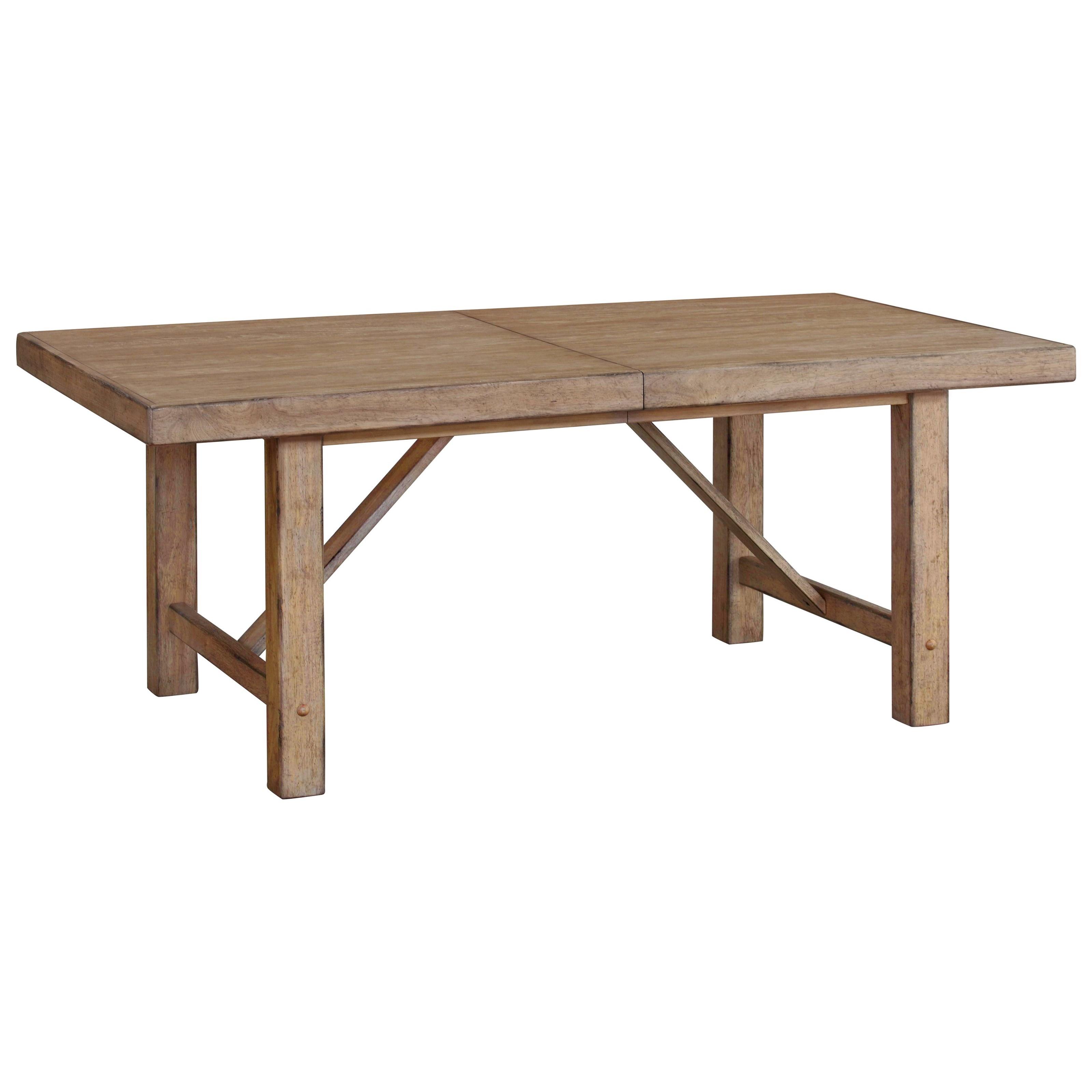 Furniture City Brewing - Blonde Leg Table by VFM Signature at Virginia Furniture Market
