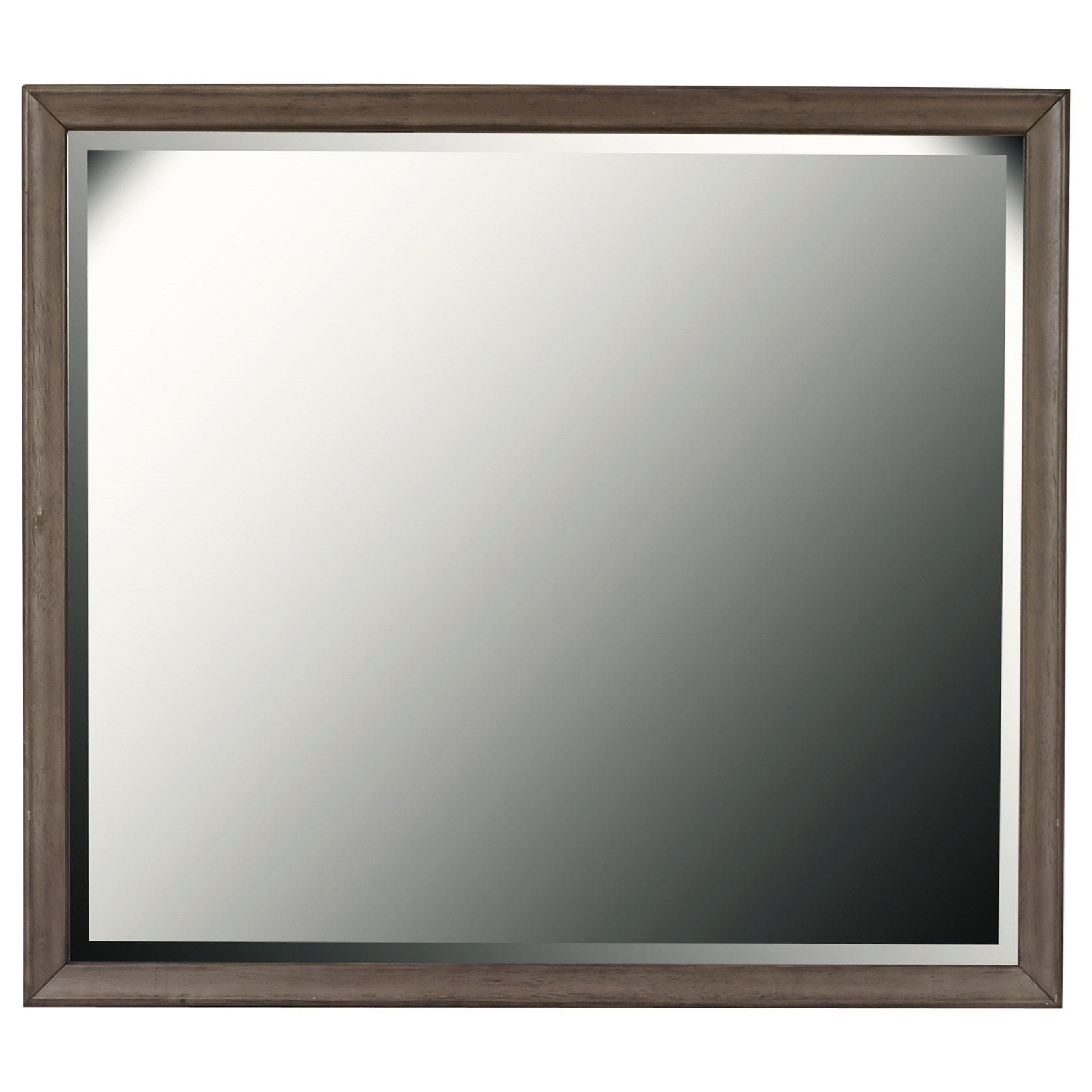Hanover Square Mirror by Samuel Lawrence at Nassau Furniture and Mattress