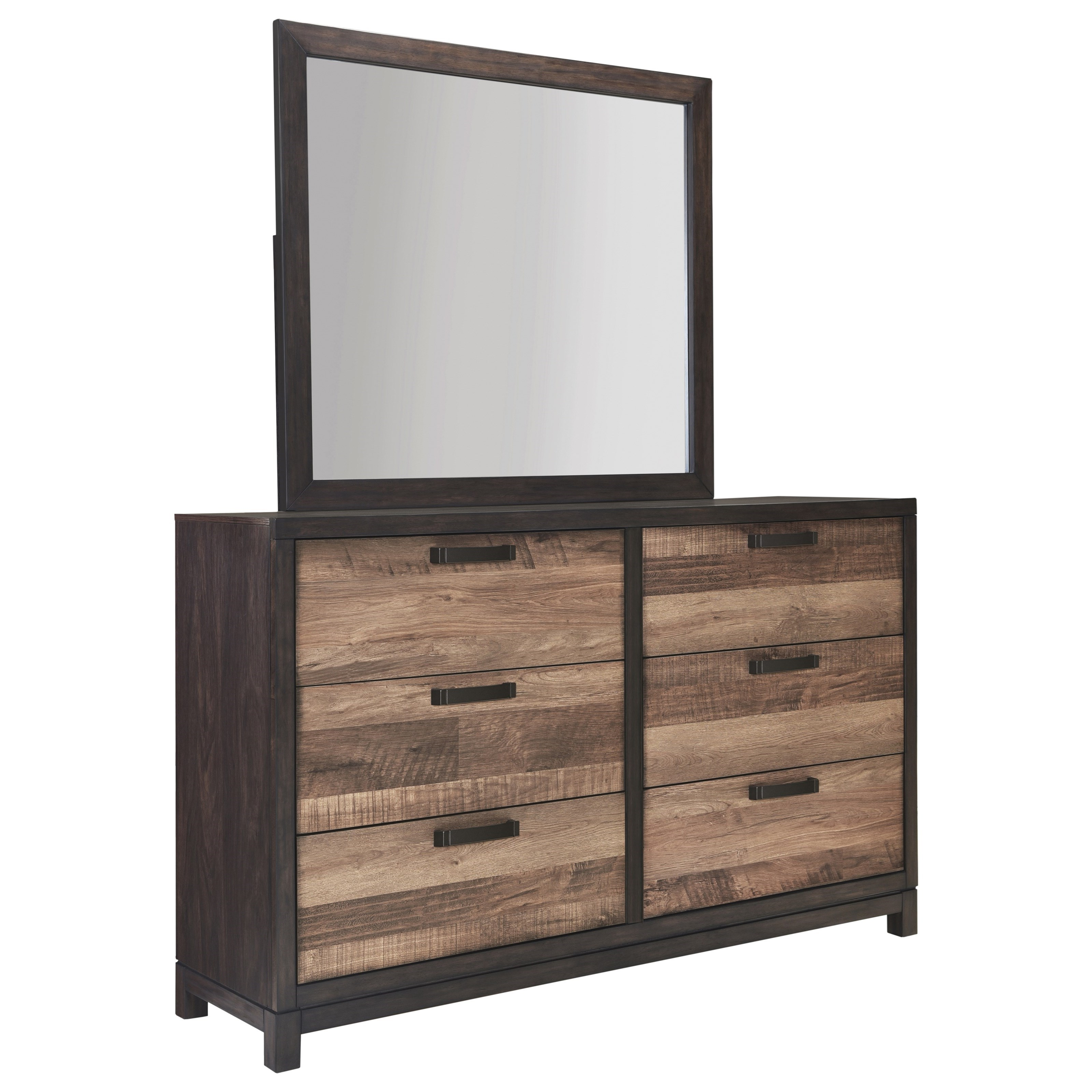 Harrison Dresser and Mirror by Samuel Lawrence at Nassau Furniture and Mattress