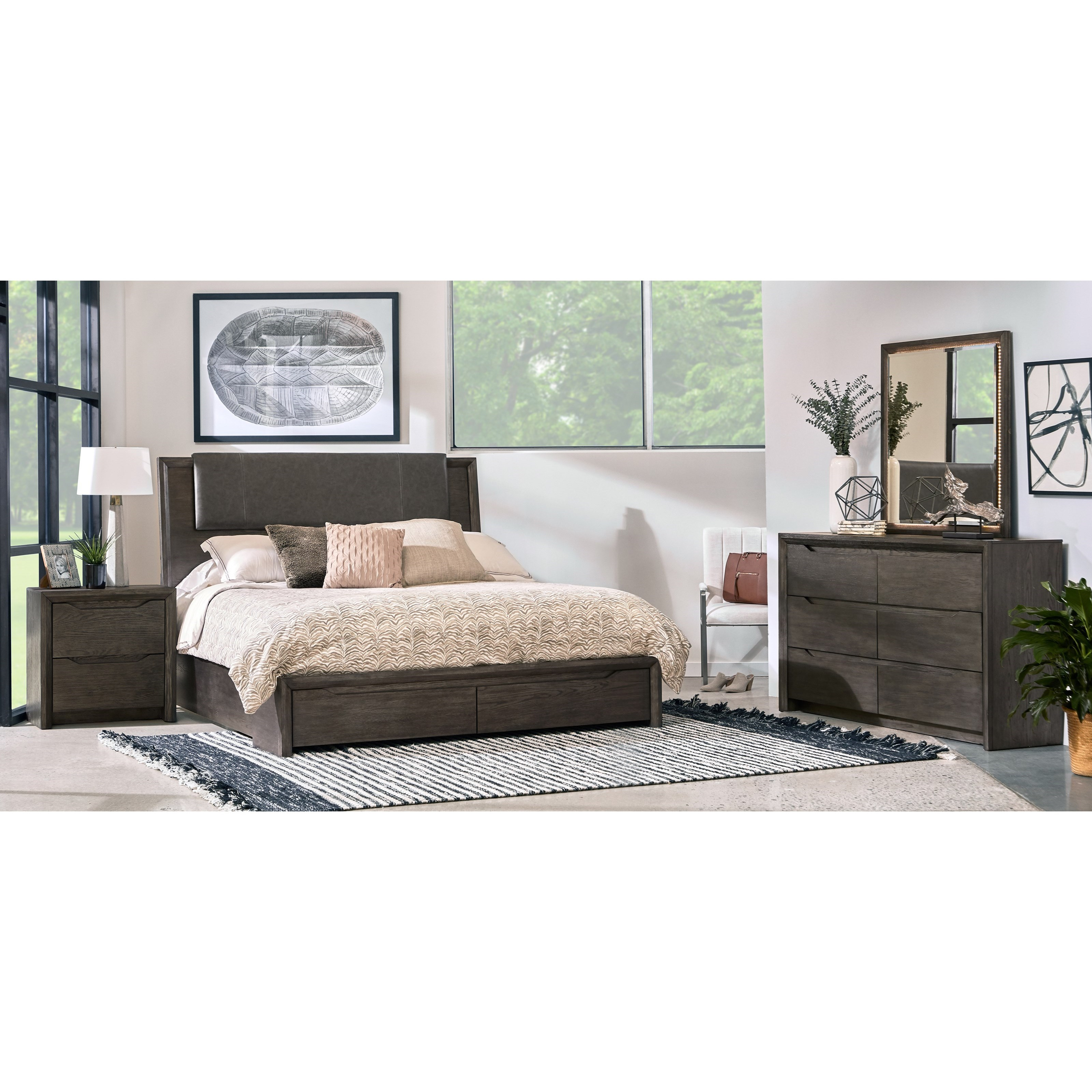 Java Queen Bedroom Group by Samuel Lawrence at Carolina Direct