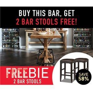Pub Table with 2 FREEBIE STOOLS