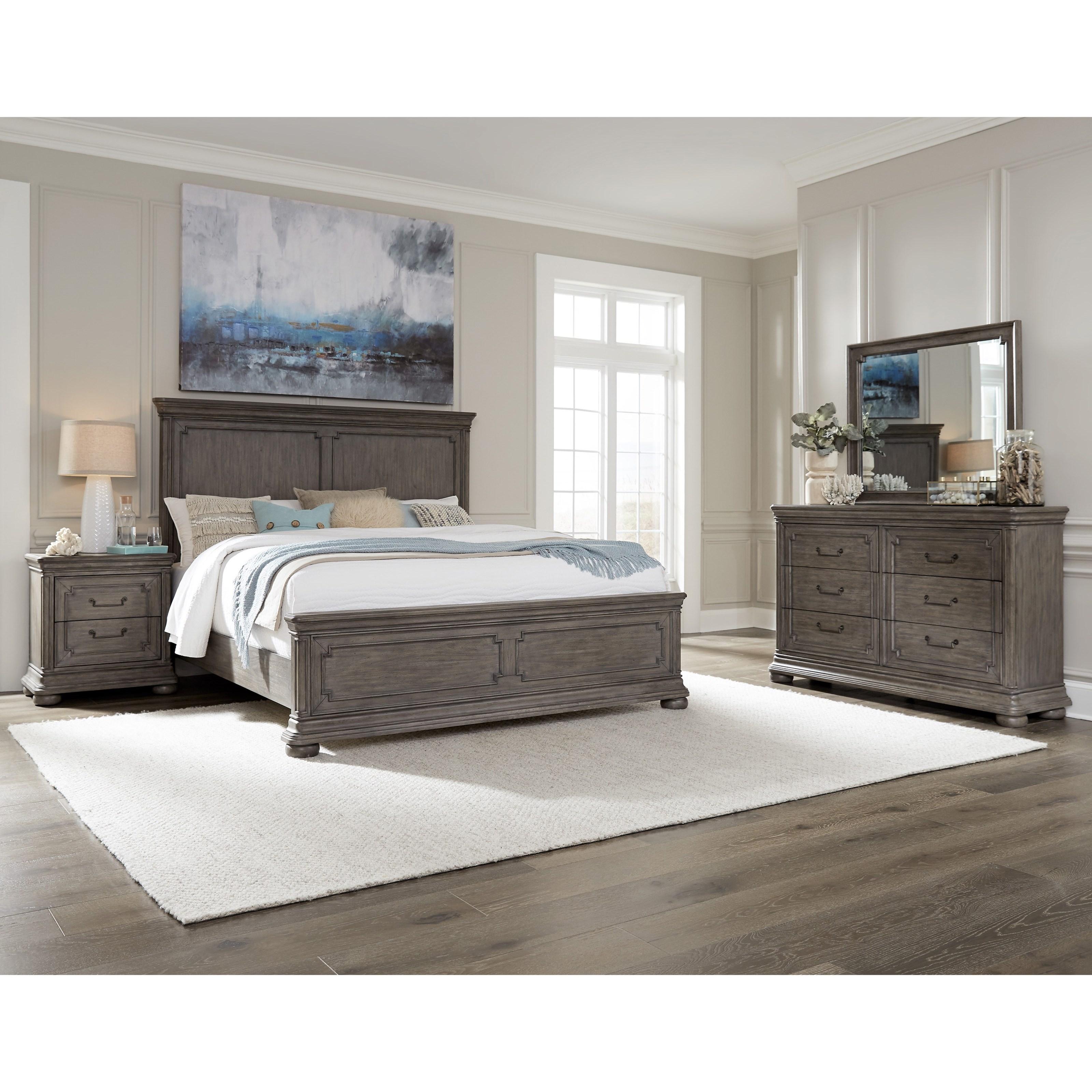 Lasalle King Bedroom Group by Samuel Lawrence at Carolina Direct