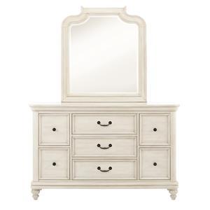 Samuel Lawrence Madison Dresser & Mirror Set