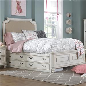 Samuel Lawrence Madison Twin Bed w/ Under Bed Storage