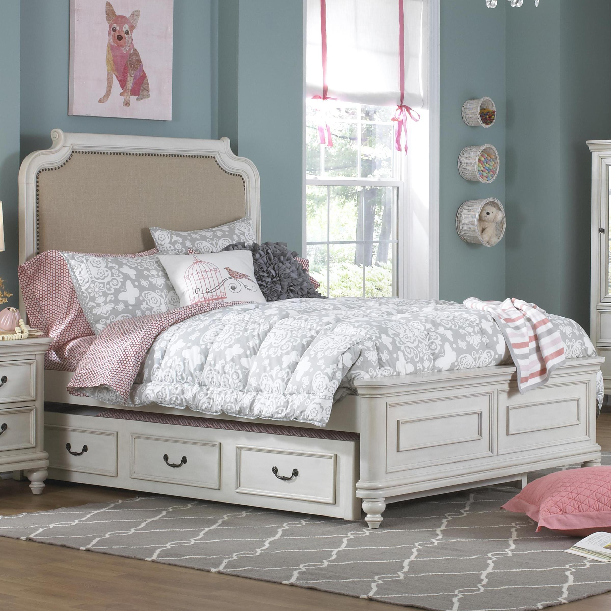 Madison Twin Trundle Bed by Samuel Lawrence at Carolina Direct