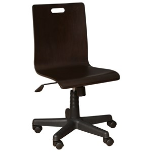 Contemporary Desk Chair with Casters