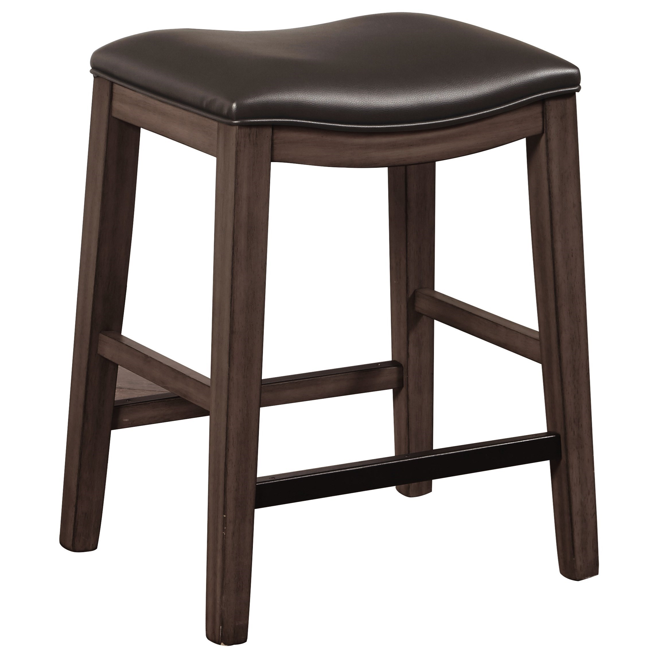 Kent Kent  Backless Stool by Samuel Lawrence at Morris Home