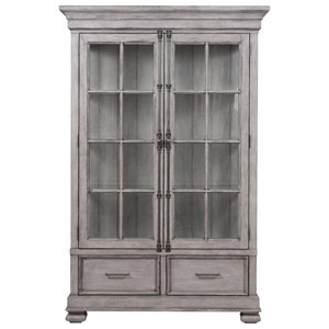 Curio China Cabinet with Canister Lighting