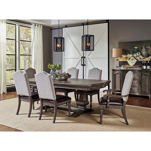 Traditional 7 Pc Dining Set